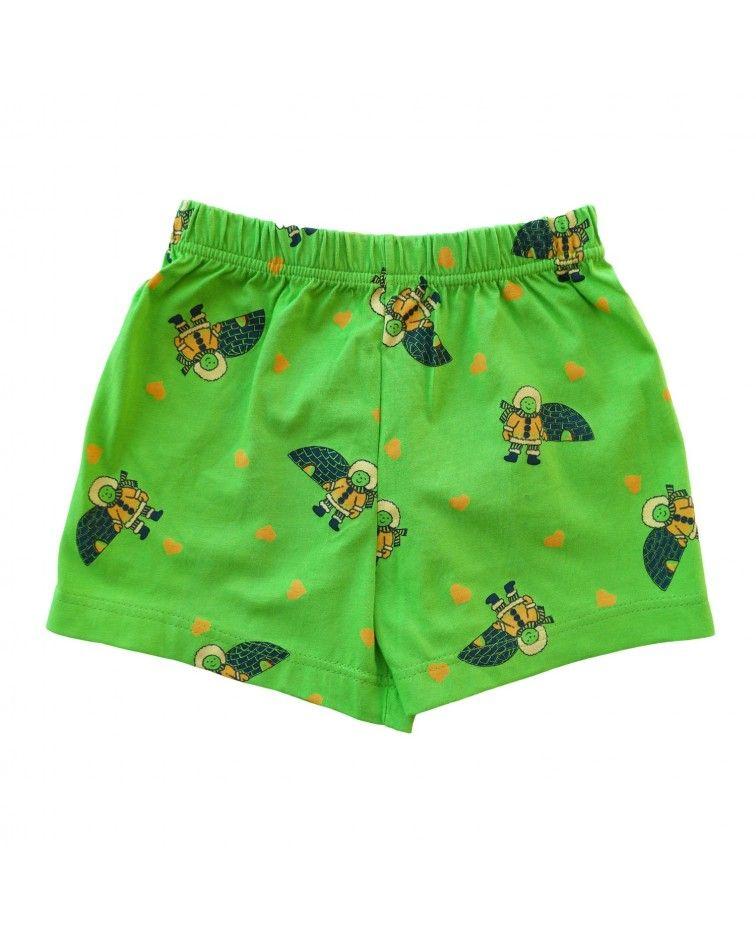 Boxer, τύπωμα, πράσινο