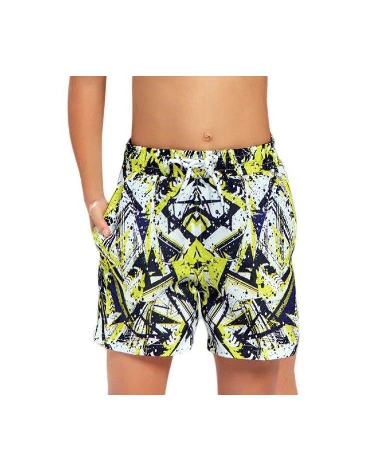 Boys swimwear, yellow