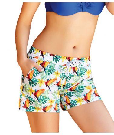 Women shorts, parot