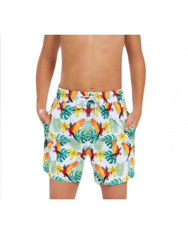 Boys swimwear, parot