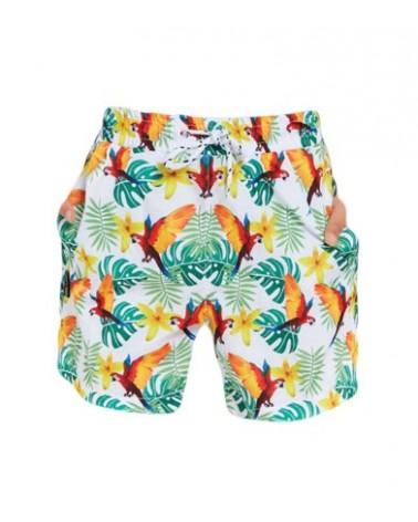 Boys swimwear, parot