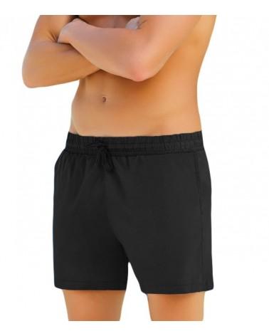 Men swimwear sorts, black