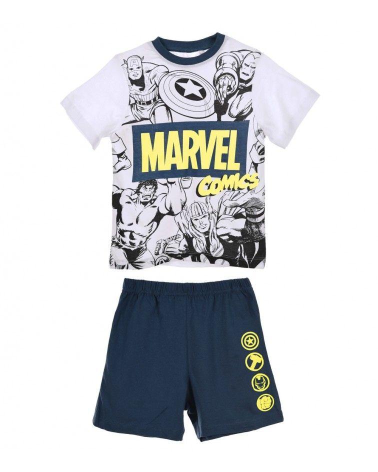Πιτζάμα Αγοριών Super Heroes, Μπλε