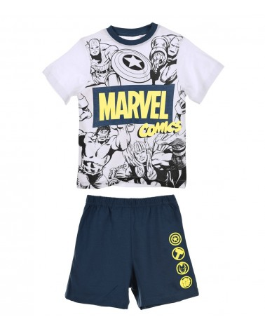 Boys Pyjama Super Heroes, blue