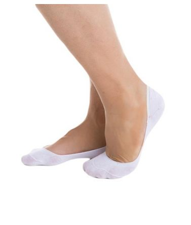 women low sock, white