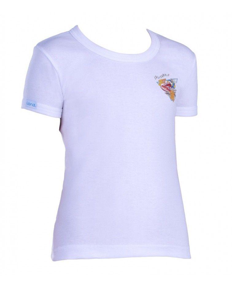 T-Shirt, Print, white