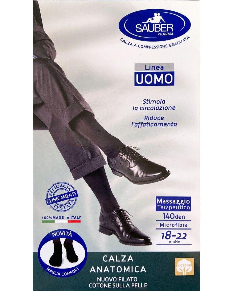 Sauber Socks leveled compression 18-22mmHg, cotton