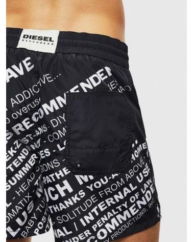 Diesel Men Swimwear, black