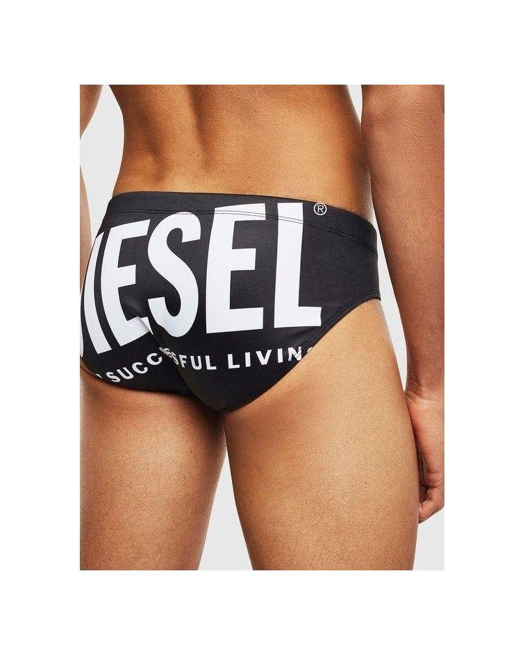 Diesel Men Swimwear, brief black