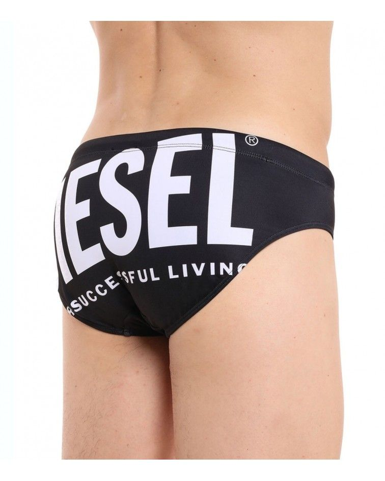 Diesel Men Swimwear, brief black