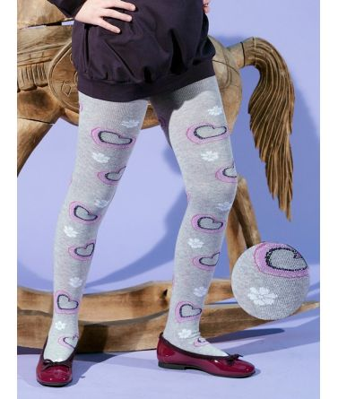 IDER girls tights, heards