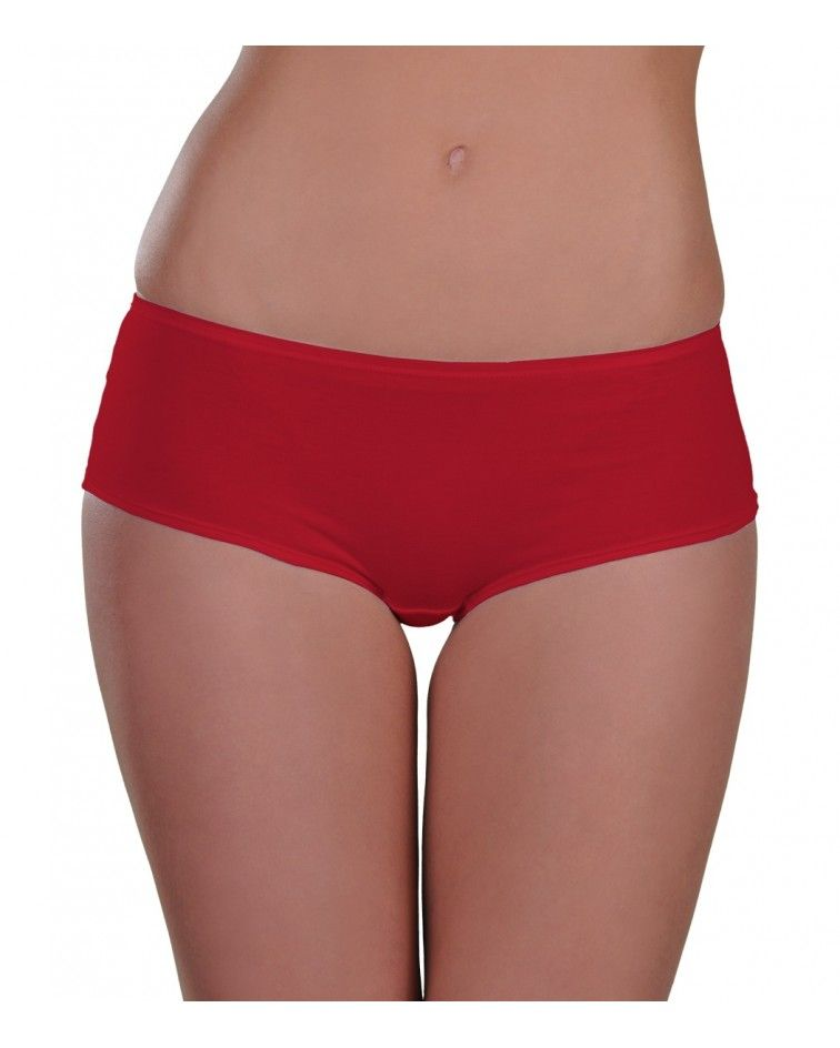 boxer, cotton, red