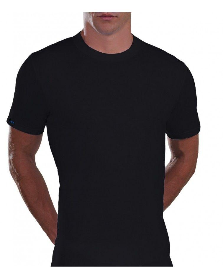 ανδρική μπλούζα, μεγάλα μεγέθη, μαύρο
