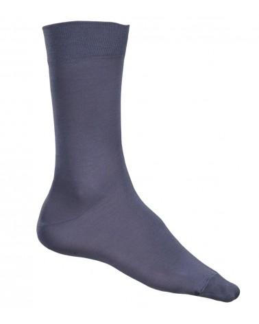Ανδρική Κάλτσα Bamboo, Ελαστική, γκρι
