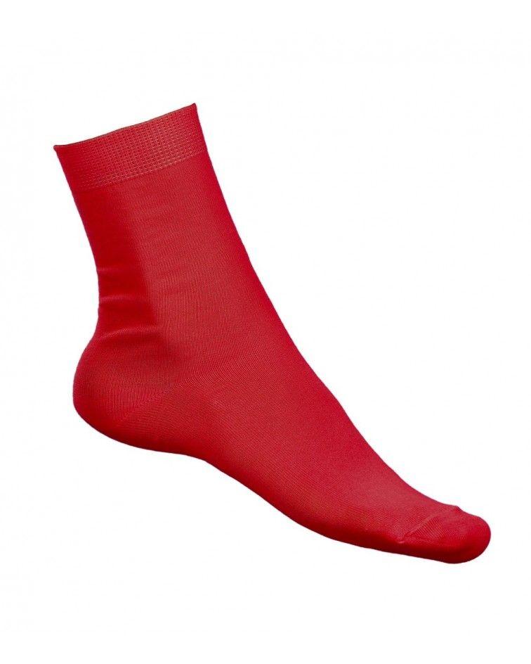 Κάλτσα Ελαστική, κόκκινο