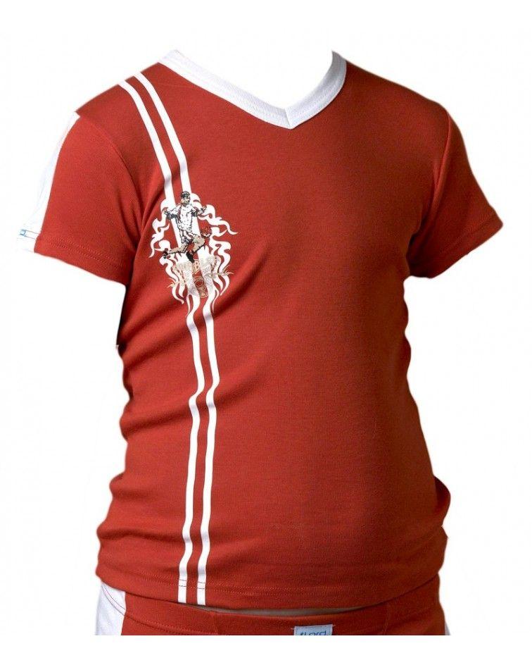Φανέλα Κοντομάνικη, Ποδόσφαιρο, κόκκινο