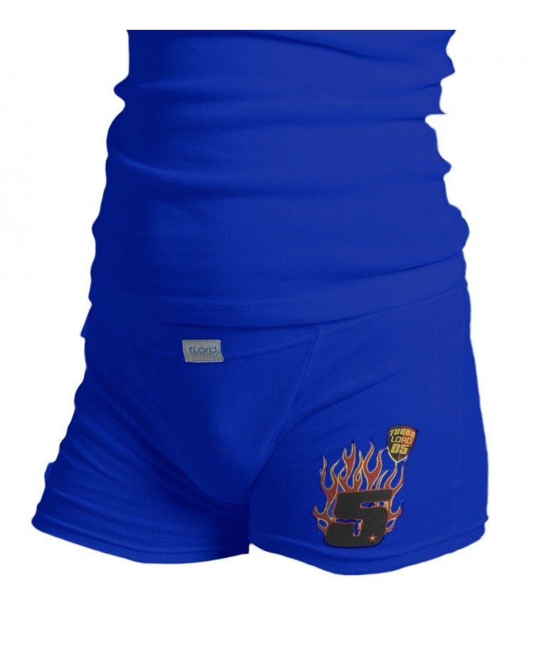 Boxer 5, μπλε