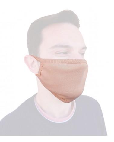 Μάσκα προστασίας υφασμάτινη, μπεζ