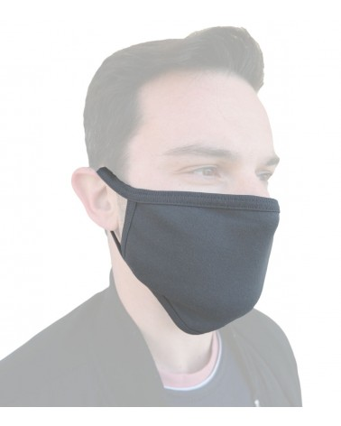 Bαμβακερή Μάσκα γενικής χρήσης, ΑΝΘΡΑΚΙ