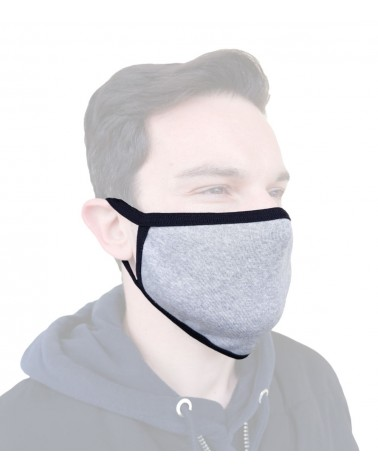 Bαμβακερή Μάσκα γενικής χρήσης, γκρι