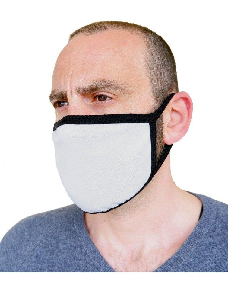 Υφασμάτινη Μάσκα Βαμβακερή επαναχρησιμοποιούμενη, γκρι