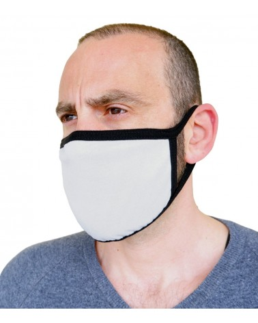 Professional Cotton reusable protection Mask, grey