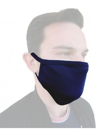 Cotton reusable Mask, blue