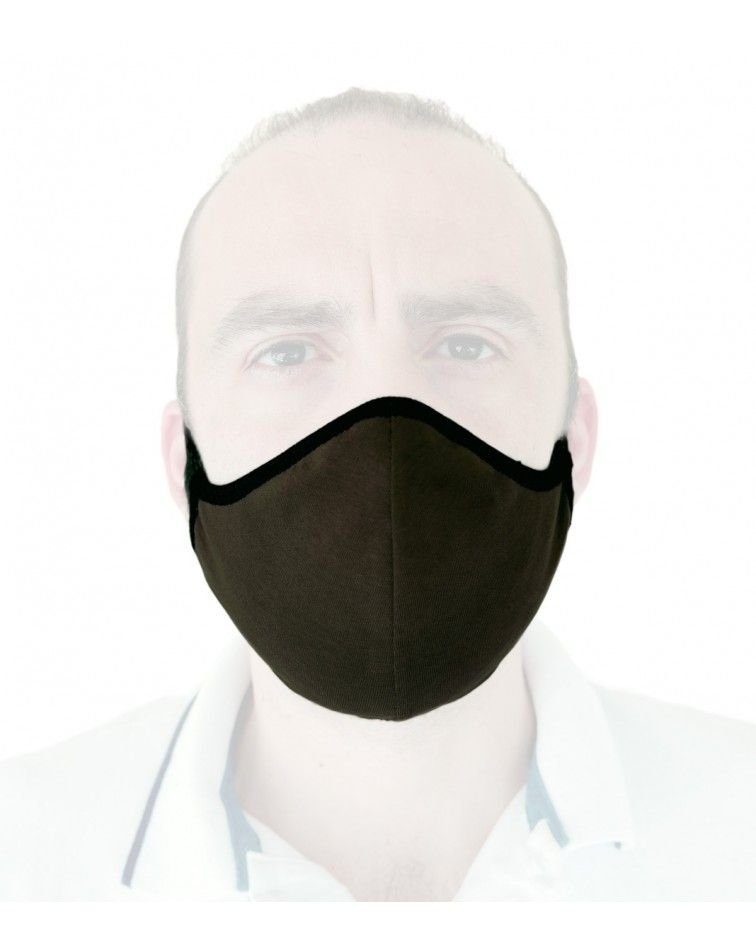 Βαμβακερή Υφασμάτινη Επαναχρησιμοποιούμενη προστατευτική Μάσκαμε λάστιχο