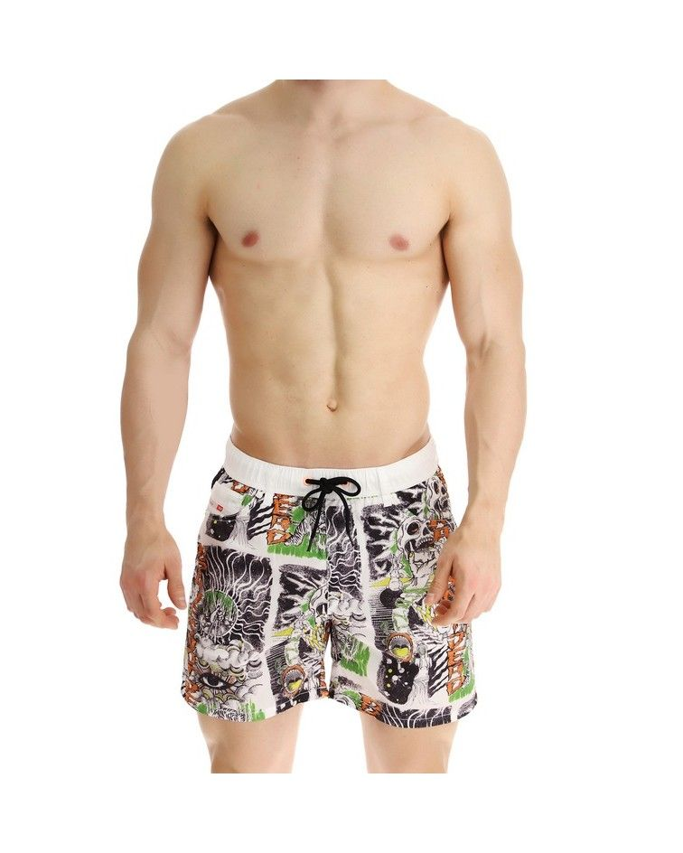 Diesel Men Swimwear, white