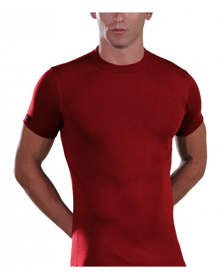 Men, T-Shirt, Elastic, cherry