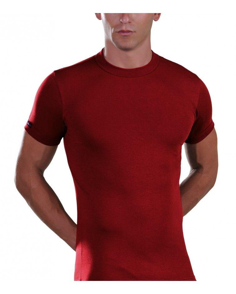 Men, T-Shirt, Elastic, cherry