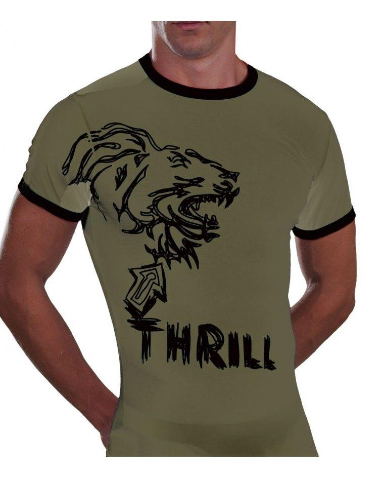 Φανέλα, Ελαστική, Lion Thrill