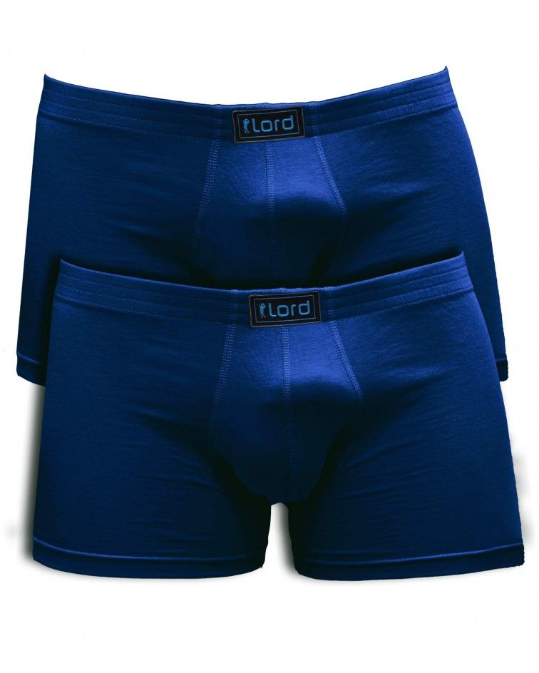 Boxer, 2set, cotton, blue