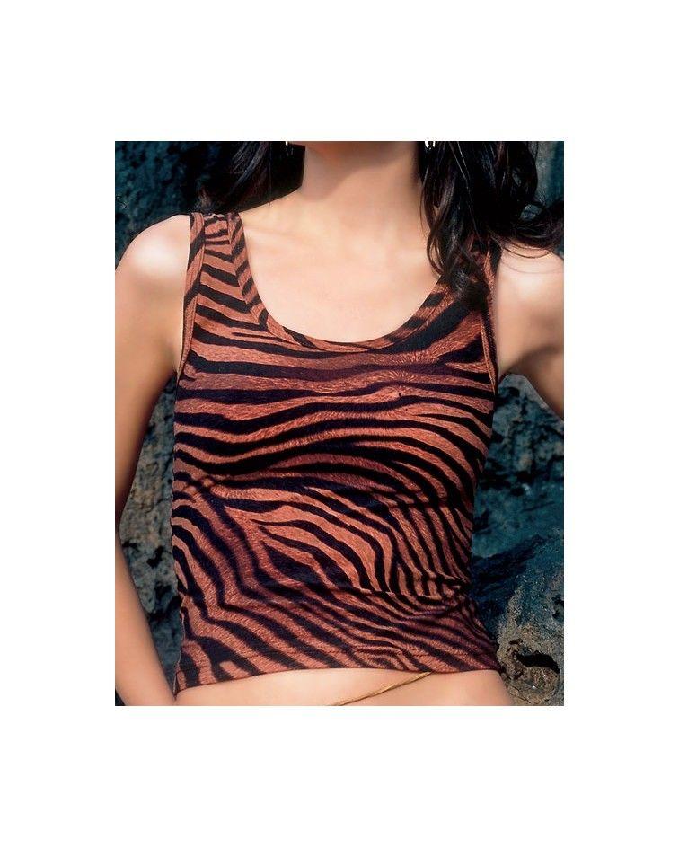 Camisole, tiger