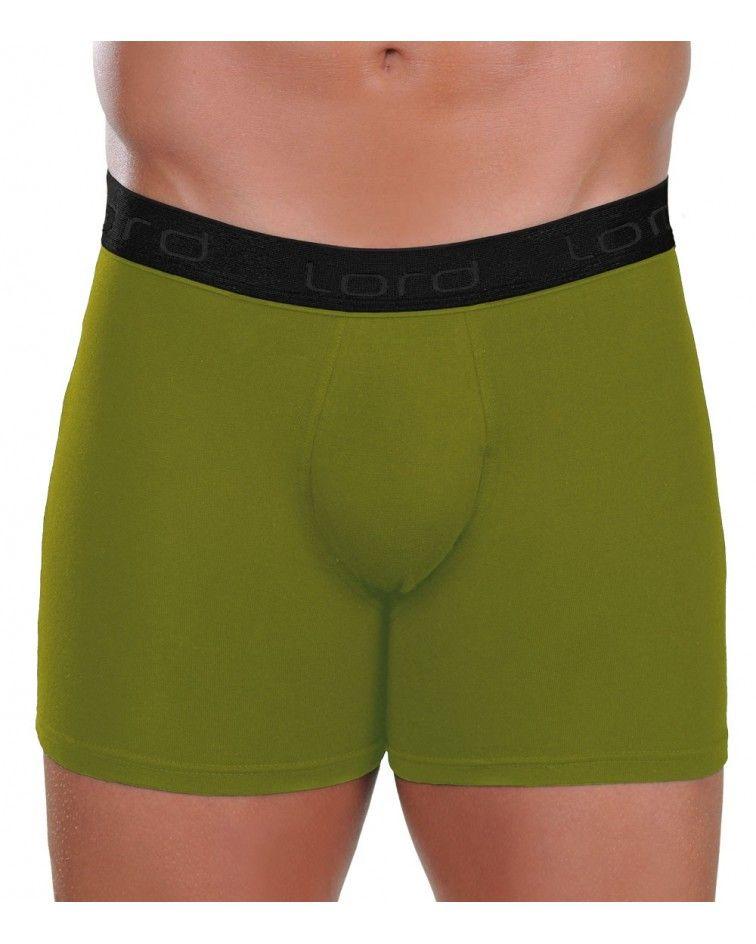 Boxer, black rubber, green