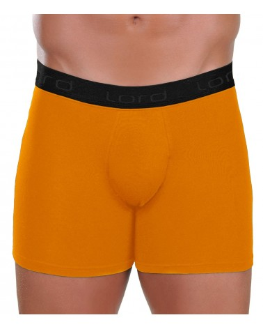 Boxer, black rubber, orange