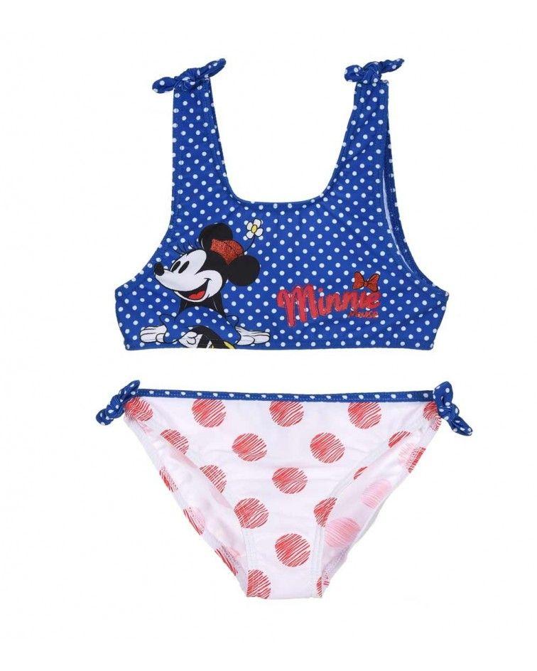 Μαγιό Minnie Mouse, μπλε