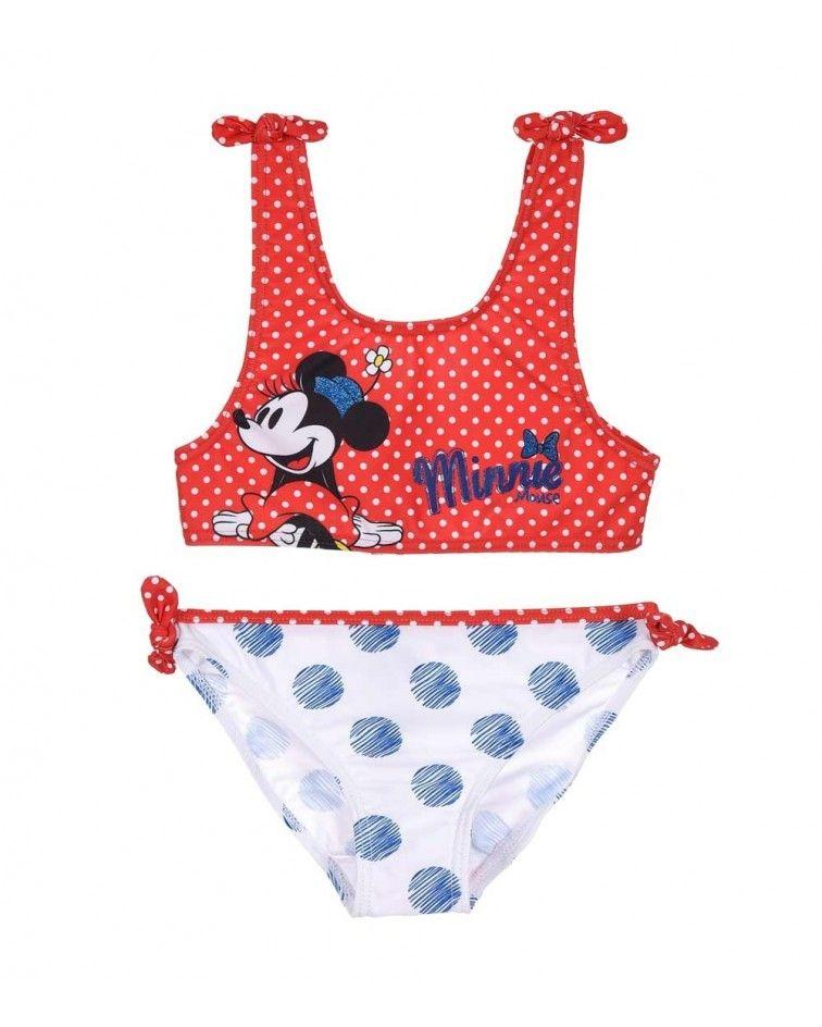 Μαγιό Minnie Mouse, κόκκινο