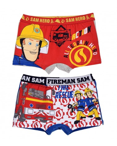 Αγοριών boxer Fireman 2τεμ