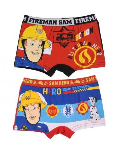 Αγοριών boxer Fireman 2τεμ, μπλε