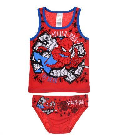 Αγοριών Τιράντα & Σλιπ, Set Spiderman, Κόκκινο