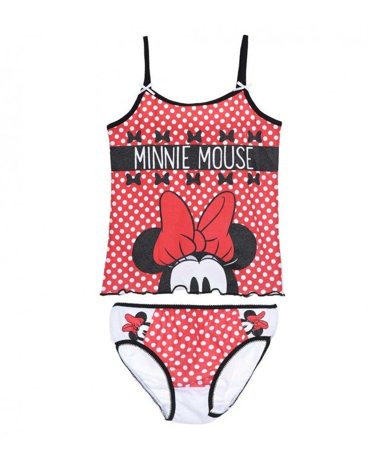 Κοριτσιών Σετ Minnie, κόκκινο