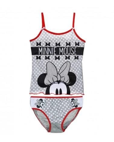 Κοριτσιών Σετ Minnie, γκρι