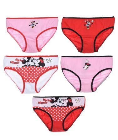Girls Minnie panty 5pcs