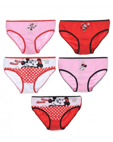 Girls Minnie panty 5pcs