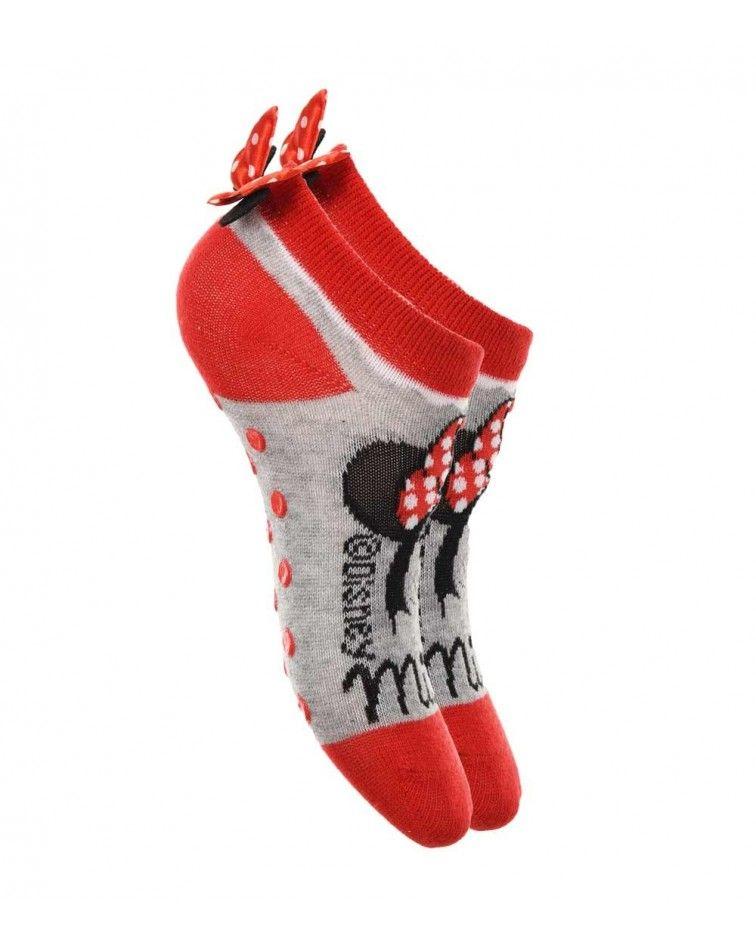 Κάλτσες Παιδικές Minnie, κόκκινο