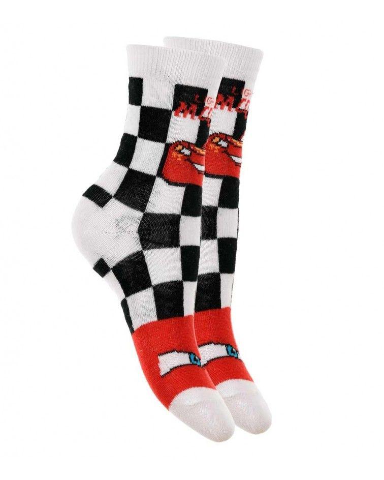 Κάλτσες Παιδικές Cars, λευκό