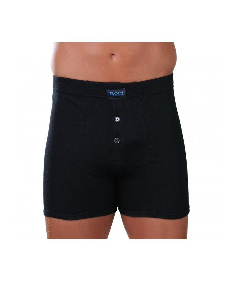 Boxer front open, button