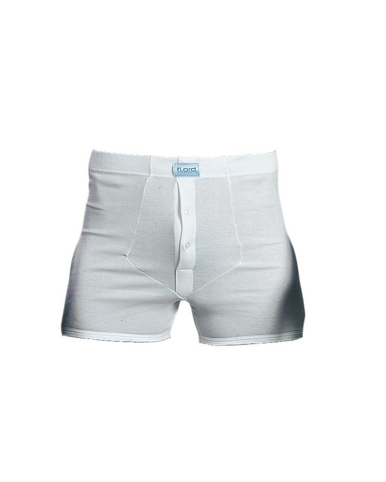 Teens Boxer front open, button