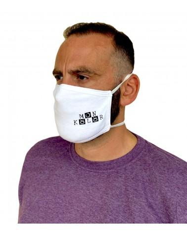 Επαγγελματική Μάσκα λογότυπο, λάστιχο 30τεμ